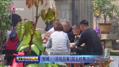 """邹城:""""迎凤回巢""""促乡村振兴"""