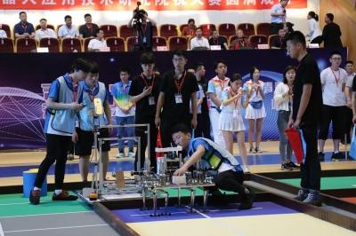 山東省大學生機器人大賽在鄒城閉幕 濟寧職業技術學院獲一等獎