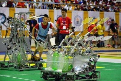 第七屆山東省大學生機器人大賽在鄒城閉幕