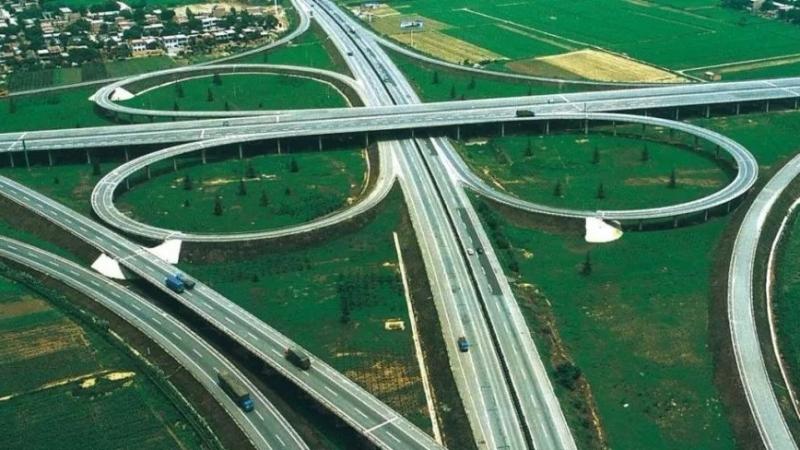 双向八车道!京台高速改扩建曲阜段完成清表