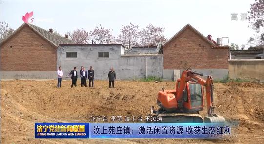 汶上县苑庄镇:激活闲置资源   收获生态红利