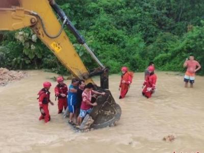 应急管理部:南方8省份持续强降雨已致88人死亡