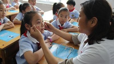 爱眼日|金乡:爱眼护眼进校园 拥抱光明未来