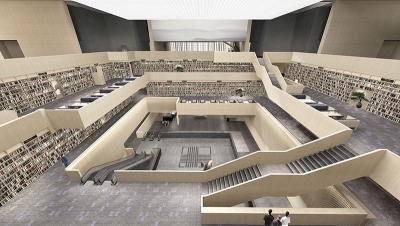 济宁群众艺术馆、图书馆、美术馆已投入试运行