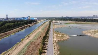 """华丽""""变身?#20445;?#27982;宁高新区十里湖生态湿地公园一期项目有看点"""