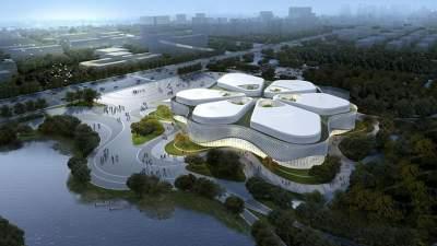 乡村振兴|金乡国际蒜都中心项目建设如火如荼