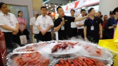 鱼台79家企业亮相省城,咱的生态农产品很长面子