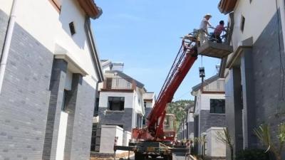 最新进展!尼山鲁源圣源示范片区870多户房屋已建成