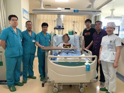 163小時的守候:必威betway市一院運用VA-ECMO成功挽救暴發性心肌炎患者