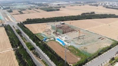新进展!济宁综合保税区监管仓库主体施工近尾声