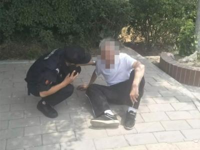 夏日炎炎,看济宁警察蜀黍上演的暖心瞬间!