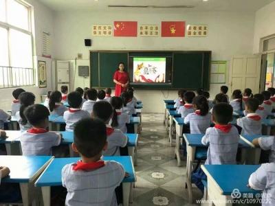 育傳統美德  揚愛國之心——石橋鎮第一小學開展端午節主題活動