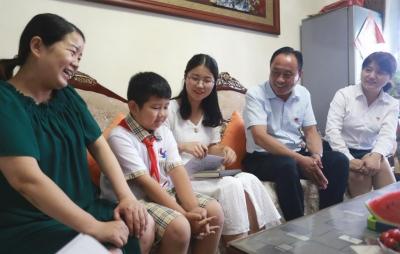 家訪全覆蓋 濟寧學院附小太白湖校區教師進家聽心聲