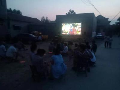 公益电影下乡 丰富村民文化生活 促乡风文明