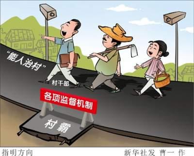 """4万名村干部被清除出队伍,中国式""""村霸治村""""背后"""
