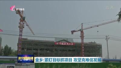 金乡:紧盯目标抓项目 攻坚克难促发展