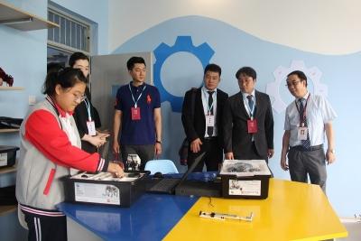 韓國慶熙大學訪問考察北大培文濟寧二中 簽訂框架協議