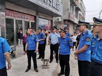 金乡:夜间执法 集中整治 坚决打赢蓝天保卫战