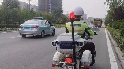 梁山这些路段违停信息自动收集 今起摩托车上实时抓拍