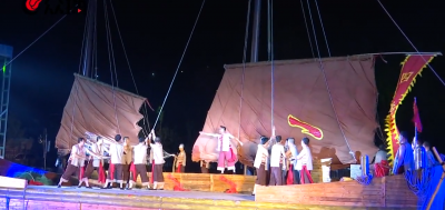 """【我爱这片蓝色的国土】70秒丨传唱300年的海上歌谣,""""长岛渔号""""唱给你听"""