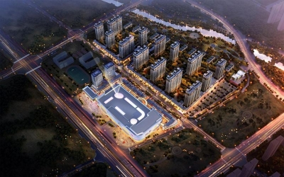 吾悦广场城市展厅今日揭幕,太白湖60万方综合体撬动济宁