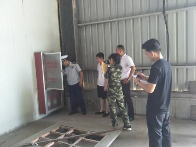 济宁食品工业开发区进行消防安全检查 整改隐患19处