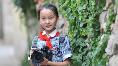 """金乡出了个""""小小摄影家"""" 作品全国上榜"""