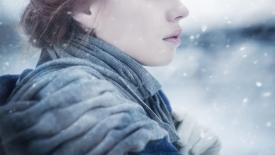 《裹着雪花的女人》