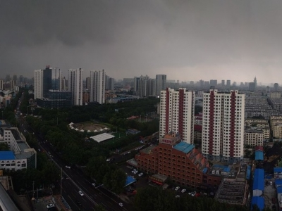 济宁平均降雨量17.4毫米,最大降雨点位于曲阜吴村