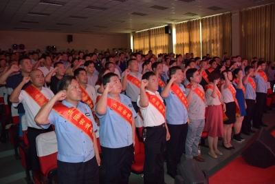 永远跟党走 济阳街道举办庆祝建党98周年暨互联共建主题党日活动