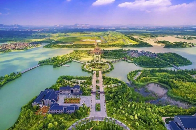 """济宁加快""""明珠""""项目建设 推进采煤塌陷地生态修复"""