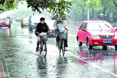 濟寧平均降雨量5.1毫米 最大降雨點微山高樓站16.6毫米