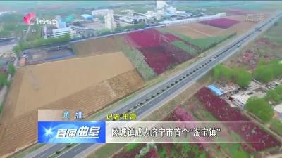 """曲阜陵城镇成为济宁首个""""淘宝镇"""""""