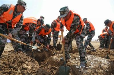 副省长于国安来济宁市调研指导防汛抗灾工作