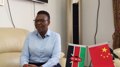 肯尼亚驻华大使:愿学习借鉴中国经验 为肯中合作不断注入新动能