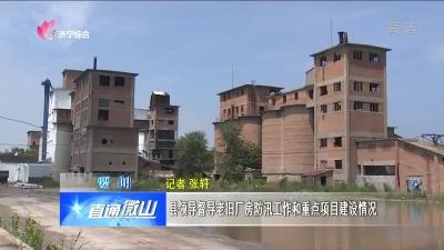 微山:县领导督导老旧厂房防汛工作和重点项目建设情况