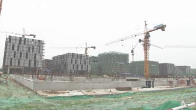 经济开发区圣祥小镇南片区创研基地建设项目:全力以赴 按期完成建设任务