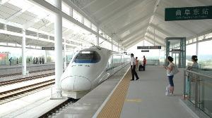 """因台风""""利奇马""""影响 曲阜东站多趟列车停运"""
