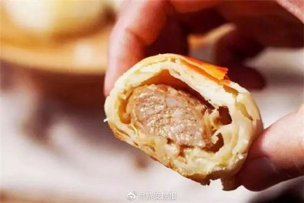 """中国首款人造肉月饼将面市 对""""三高""""人群更健康"""