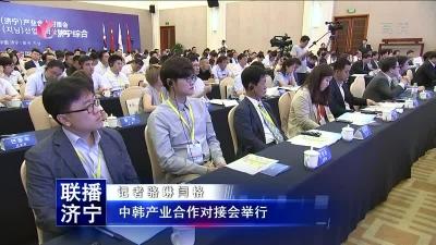 中韩产业合作对接会举行
