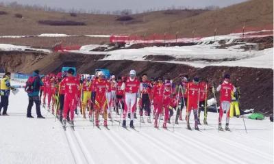 曲阜运动员勇夺全国第二届青年运动会越野滑雪比赛3枚金牌