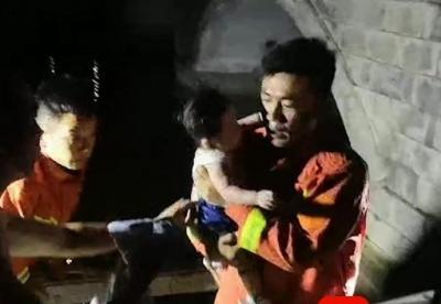 女子與家人吵架想不開跳河輕生 懷中幼兒哭泣不止