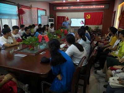 守護健康 綻放青春 大石橋社區舉辦青春健康教育講座