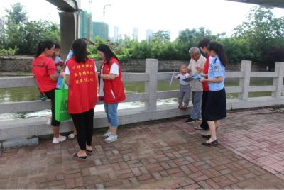 津浦街社區:社會治安防范宣傳進小區