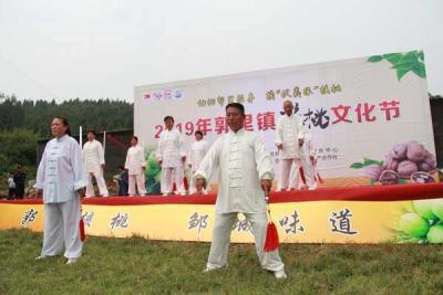 記憶郭里往事 摘伏羲緣核桃 郭里鎮第五屆核桃文化節今天開幕