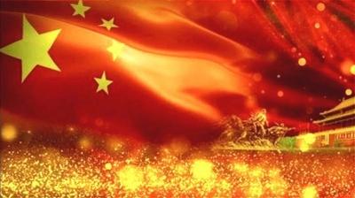 中国网民爱国热情高涨:和国旗同框 向祖国表白