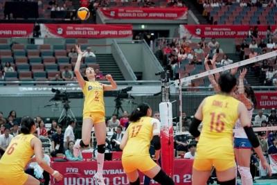 十战十胜!中国女排提前卫冕!