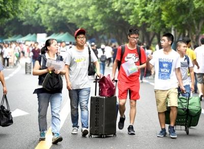 大学四年怎么过? 91.2%受访新生称给自己立规矩