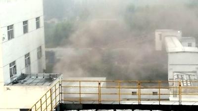 网友举报365best体育_体育365下载官方_体育365 app三号煤矿选煤厂尘烟滚滚污染大气