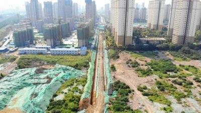 红星路东延预计10月底通车 高新区居民快不用绕路了